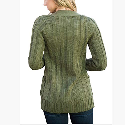Warmly Donna Cardigan Armygreen Warmly Cardigan YpwqRnR