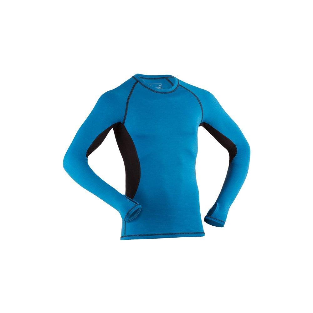 Engel Sports Bio Funktionskleidung Herren Langarm Shirt aus Bio Merinowolle und Seide mit Elasthananteil