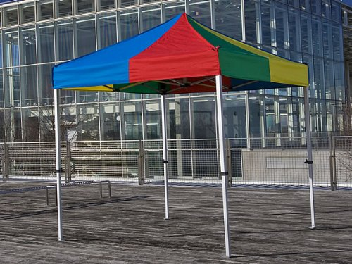 集会用 イベントテント KA/1W(1.8m×1.8m)かんたんてんと3 B00AQ8B488 4色 4色