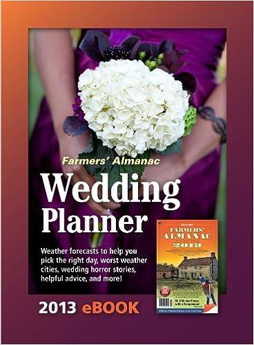 Farmers Almanac 2013 Wedding Planner