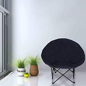 Pleasing Arb Market Moon Chair Folding Padded Seat Lounge Large Round Theyellowbook Wood Chair Design Ideas Theyellowbookinfo
