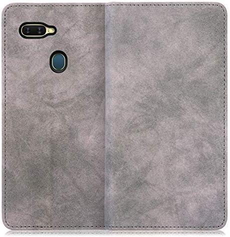 LOOF Vintage OPPO Reno 10x Zoom ケース 手帳型 カバース マホケース 軽量 ベルト無し 手帳型ケース 横入れ カード収納付 スタンド機能付 (ミント)
