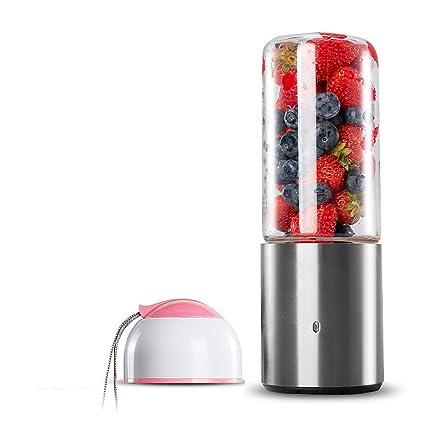 AtR Exprimidor de Frutas para el Hogar Pequeño Eléctrico Portátil Taza de Zumo Que Carga la