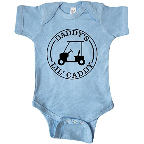 inktastic-unisex-baby-daddys-lil-caddy-infant-creeper-6-months-baby-blue