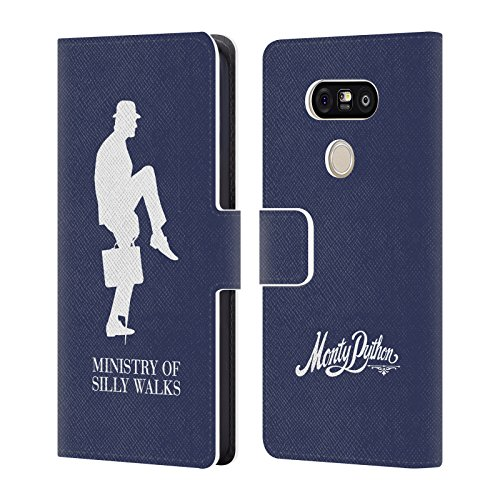 Official-Monty-Python-Ministry-Of-Silly-Walks-Key-Art-Leather-Book-Wallet-Case-Cover-For-LG-G5-SE-G5-Lite