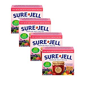 Kraft Sure Jell Light Premium Fruit Pectin 1.75oz (4 Pack)