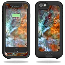 MightySkins Protective Vinyl Skin Decal for Mophie Juice Pack H2Pro for iPhone 6 Plus/6s Plus Case wrap cover sticker skins Space Cloud