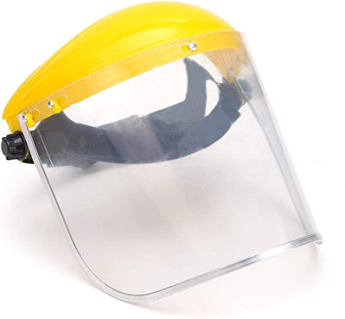 Full Mesh Safety Face Mask Shield Screen Mask Visor Face Shield for Eye Face Protection Safety Helmet
