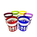 Handmade Klein Baccarat crystal whiskey glasses, Service 6 glasses (23 cl), Roemer glass, signed Cristal Klein 54120 Baccarat, christmas gift idea.