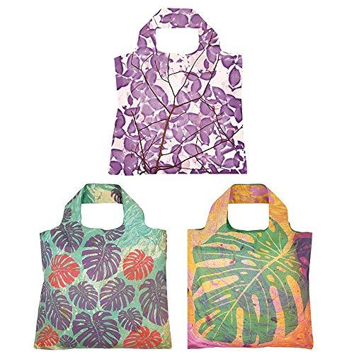 Envirosax Havana Reusable Shopping Bags (Set of 3), Leaves ()