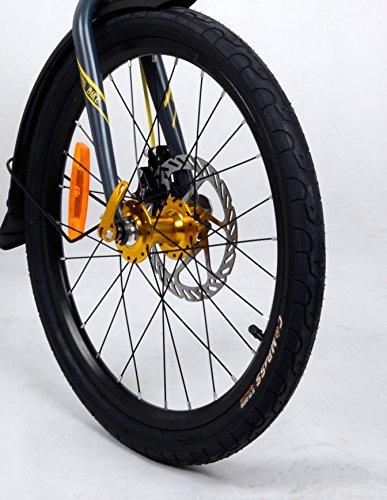 Camp 20'' Folding Bike Shimano 16 Speed, Thunderbolt by CAMP (Image #3)