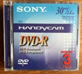 DVD-R, 8CM, Recordable,1.4GB, 3/PK, Sold as 1 Package