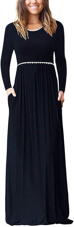 Vestidos Mujer Hermoso Moda Algodon Otoño Invierno De Vuelta a la Escuela Casual Cuello Mini Vestido de Manga Larga con Ribete de Encaje: Amazon.es: Ropa y accesorios