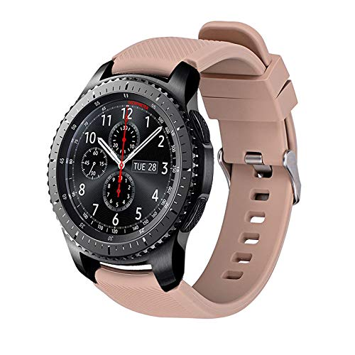 Amazon.com: Jewh Smart Silicone Movement - Watchband for Gear S3 Classic/Frontier Watch Band - Sports Strap Replacement - Bracelet Samsung Gear S3 - Samsung ...