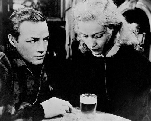 Marlon Brando and Eva Marie Saint in On the Waterfront in bar 11x14 Promotional - In Shops Waterfront