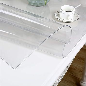 MANTEL PVC Prueba De Agua Floral Transparente Rectangular Anti ...