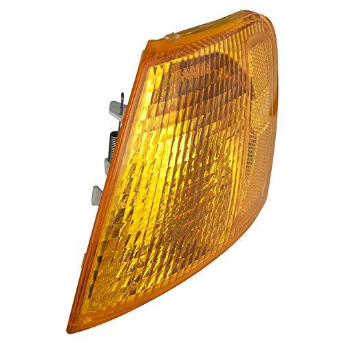 CarPartsDepot 98-01 VOLKSWAGEN PASSAT LEFT L/H SIDE CORNER SIGNAL LIGHT LAMP AMBER LENS NEW (Corner Passat Amber)