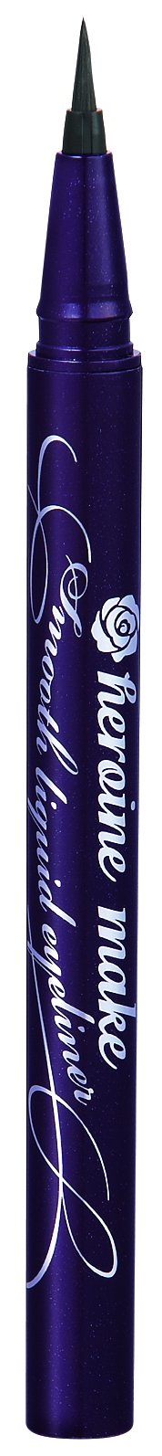 Kiss Me Heroine Make Smooth Waterproof Liquid Eyeliner, Black, 1 Ounce by Kiss Me (Image #7)