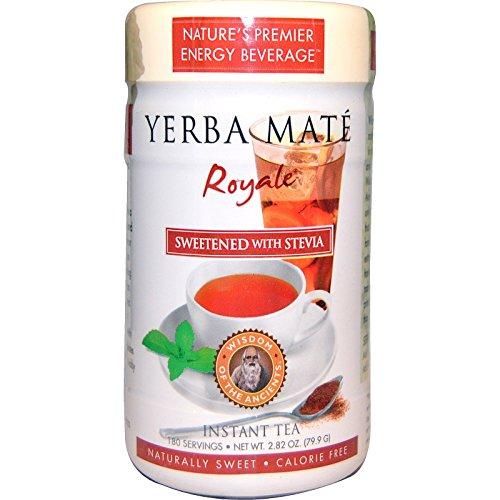 Wisdom Natural, Yerba Mate Royale, Sweetened with Stevia, Instant Tea, 2.82 oz (79.9 g) -- (Yerba Mate Royale Instant Tea)