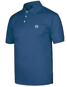 HARD LAND Polos de Golf Deporte Secado Rápido Camiseta de ...