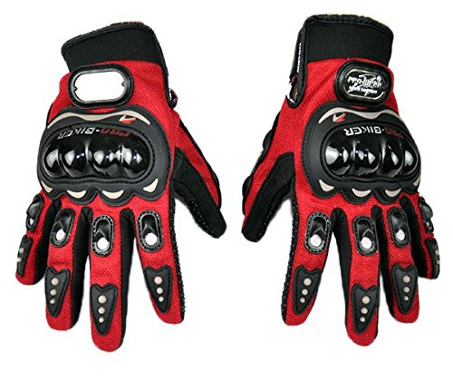 LIPOVOLT Pro-biker 3D Full Finger Motorcycle ATV Riding Racing Cycling Sport Gloves