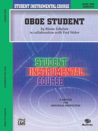 - Student Instrumental Course: Oboe Student, Level 1