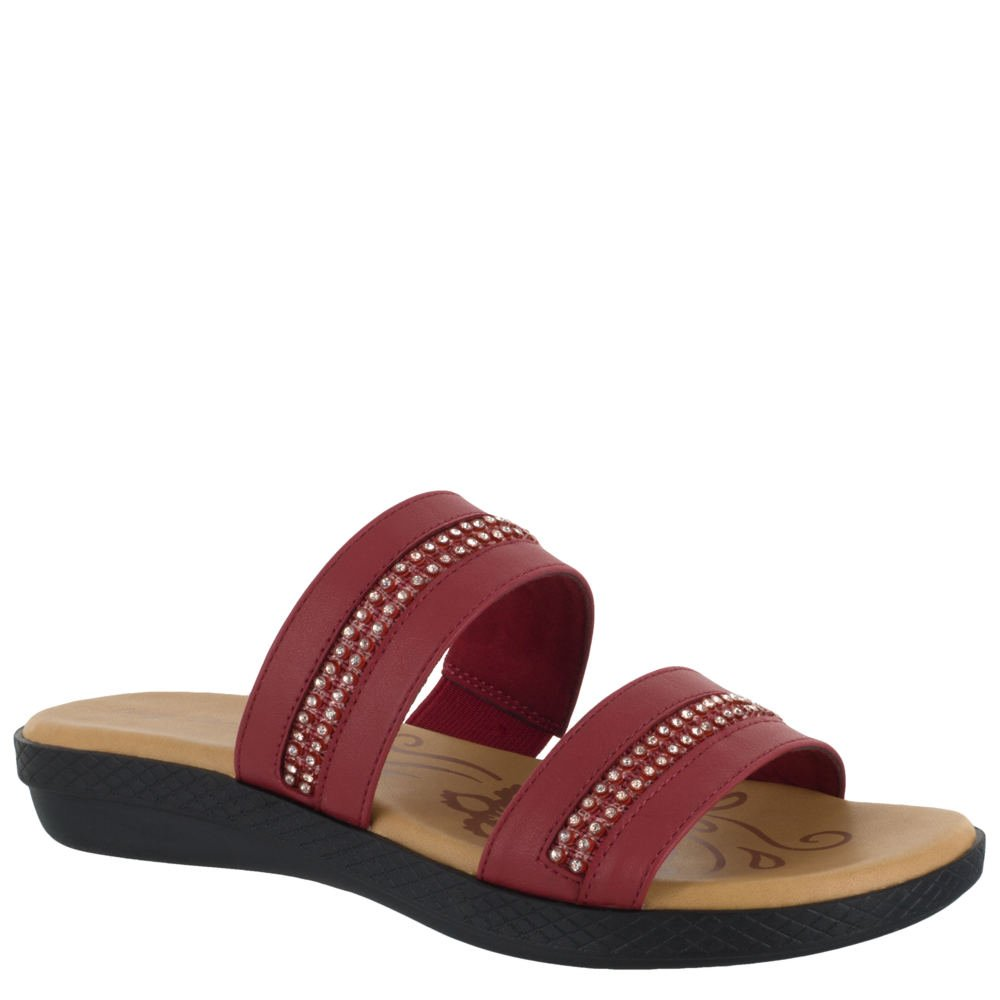 Easy Street Dionne Women's Sandal 7.5 C/D US Red