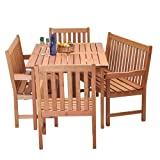 Amazonia Milano 5-Piece Bench Set For Sale
