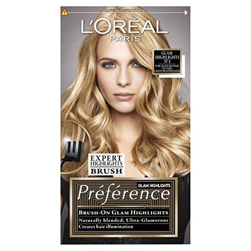 L'Oréal Preference Glam Highlights 01 Hair Dye For Blonde Hair