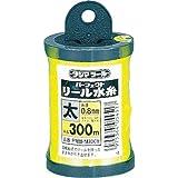タジマ パーフェクト リール水糸 蛍光イエロー 太0.8mm 長さ300m PRM-M300Y