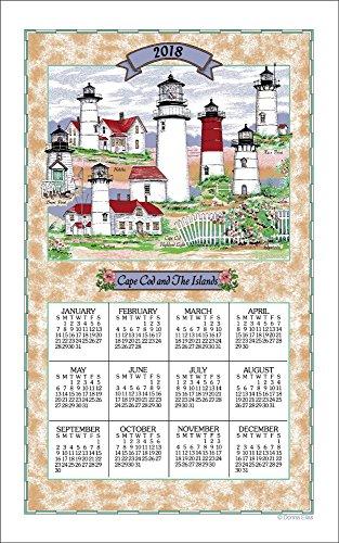 Kay Dee Linens (2018 Cape Cod Lighthouse Collage Calendar Towel)