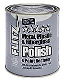 Flitz CA 03518-6 Blue Metal, Plastic and Fiberglass Polish Paste, 2.0 lbs. Quart Can