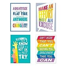 Creative Teaching Press Inspire U Painted Palette 4-Poster Pack #1 (7487)