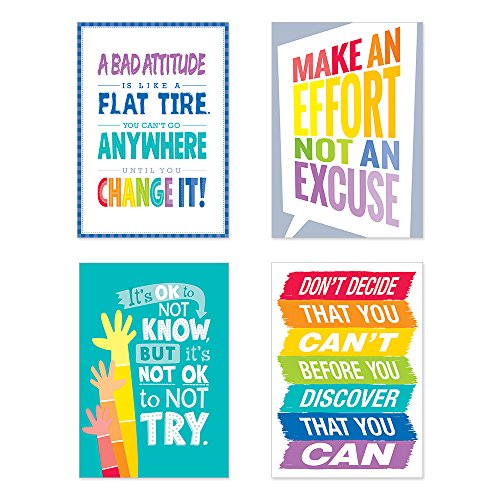 Creative Teaching Press Inspire U Painted Palette 4-Poster Pack #1 (The Painted Palette)