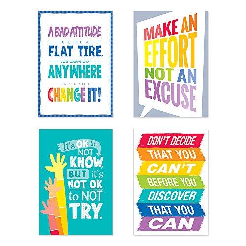 Creative Teaching Press Inspire U Painted Palette 4-Poster Pack #1 -