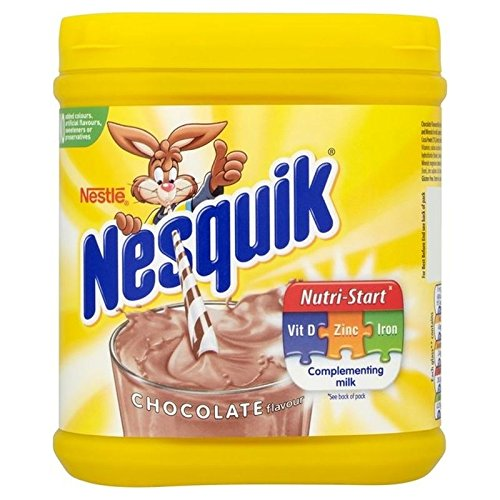 Nesquik Chocolate Milkshake Tub 500g - Pack of 2