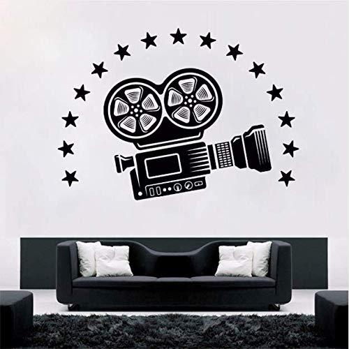 - BAOFU Vinyl Wall Decal Video Camera Wall Art Mural Cinema Movie Room Decoration Film Style Vinyl Wall Stickers 8057Cm
