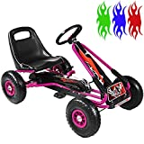 RIP-X Pedal Racing GO KART - Adjustable seat - Fully enclosed safety chain - Kids Children's Ride On Car Toy - Choice Of Colours