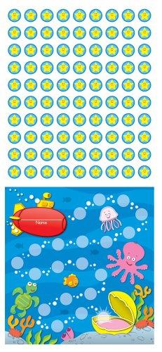 Carson Dellosa Sea Life Mini Incentive Charts (148012) ()