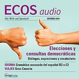 ECOS audio - Elecciones y consultas democráticas. 10/2014 Hörbuch
