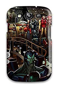 TECJvCc4181COsHb MaritzaKentDiaz Iron Man And Spiderman Feeling Galaxy S3 On Your Style Birthday Gift Cover Case