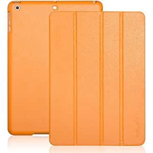 iPad Air case, INVELLOP Tangerine Leatherette Case Cover for Apple iPad Air cases (2013 release)