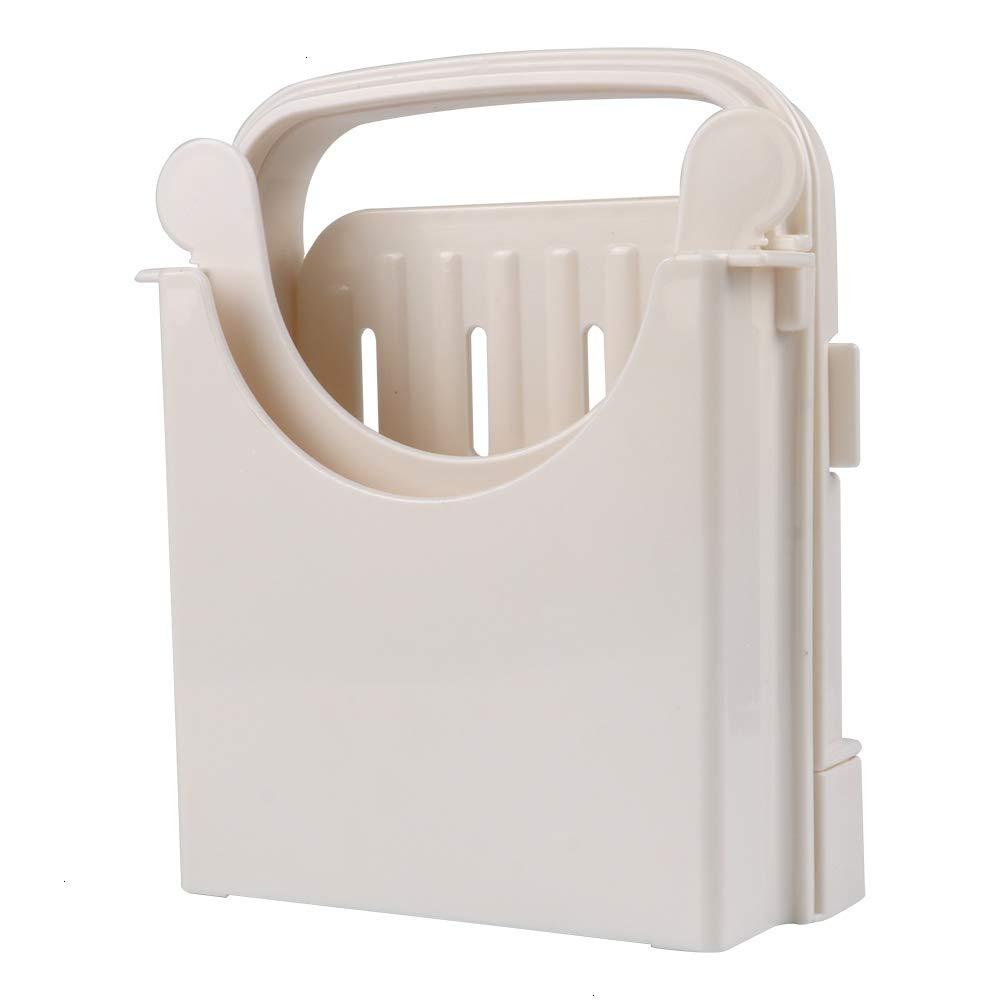 Cortador de pan para pan casero, espesor de plástico ajustable ...
