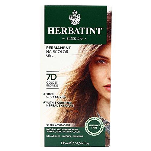 permanent herbal haircolour gel 7d