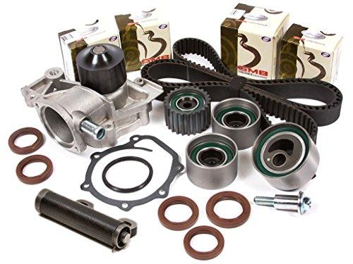 (Evergreen TBK172AHWPT Fits Subaru EJ18 EJ22 90-Feb.97 Timing Belt Kit Water Pump )