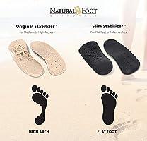 36e5355247 Amazon.com: Natural Foot Orthotics Original Stabilizer Plantar ...