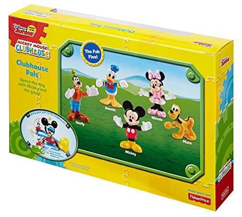 Fisher-Price Disney Mickey Mouse Clubhouse, Clubhouse Pals by Fisher-Price (Image #3)