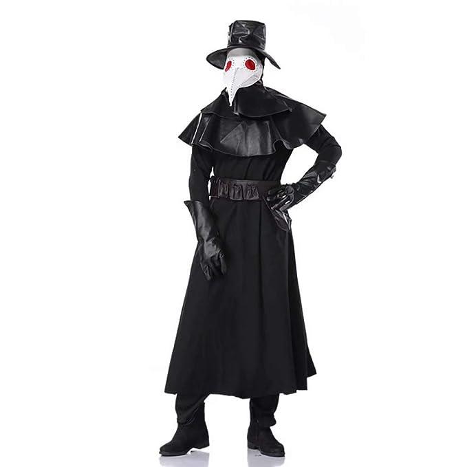 Red ROSEY Doctor de la Peste para Hombre Steampunk Chaqueta ...