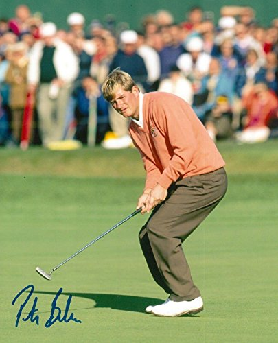 (Signed Peter Baker Photo - 8x10 RYDER CUP COA - Autographed Golf Photos)