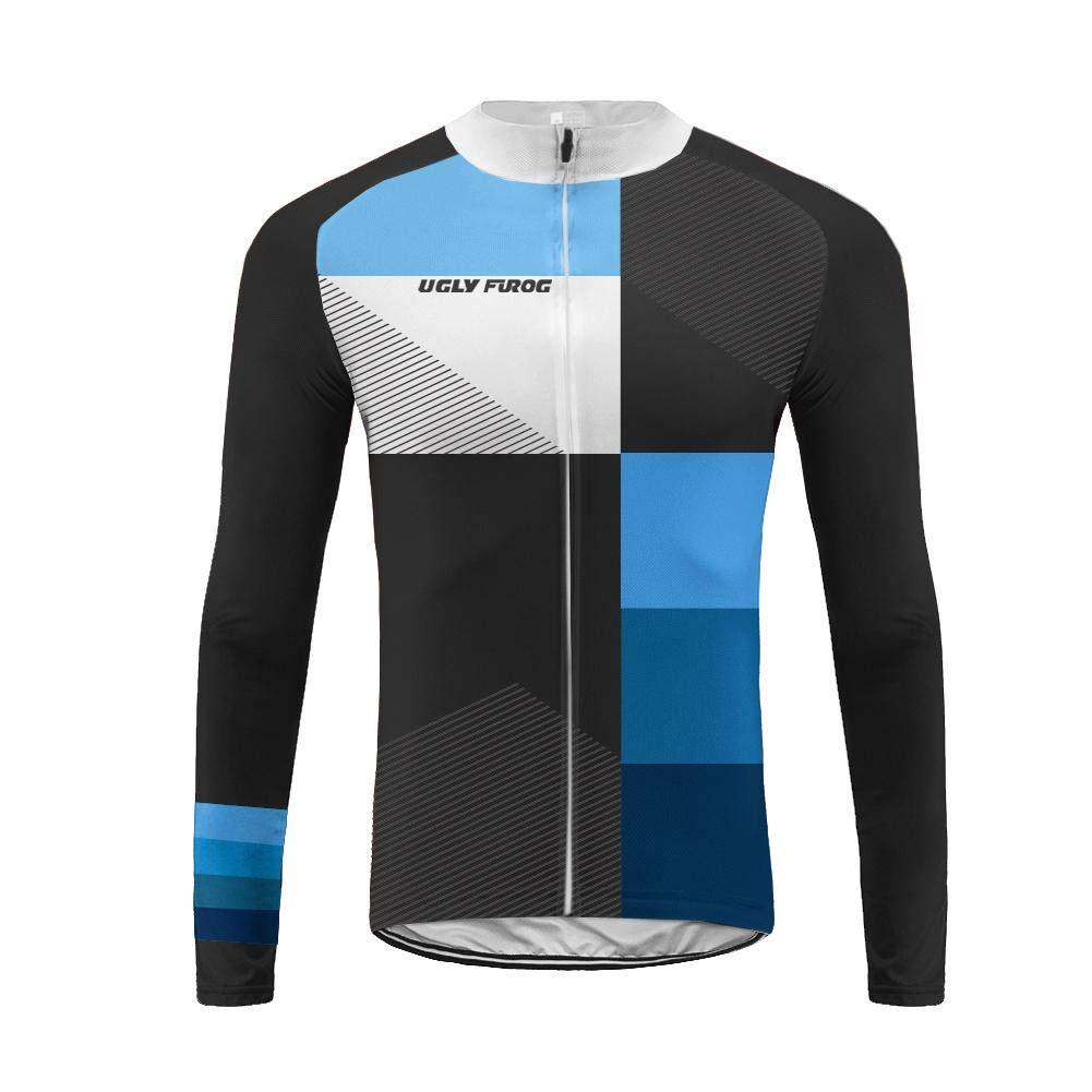 Uglyfrog UFDSJ26 Neue Rennrad M/änner Radfahren Langarm Radfahren Jersey eine Menge Farben Antislip /Ärmel Cuff Road Bike MTB Top Riding Shirt//Lange Hose Langarm Spring Bike Set